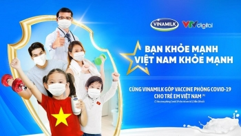vinamilk khoi dong chien dich ban khoe manh viet nam khoe manh nang cao suc khoe cong dong va ung ho vaccine phong covid 19 cho tre em