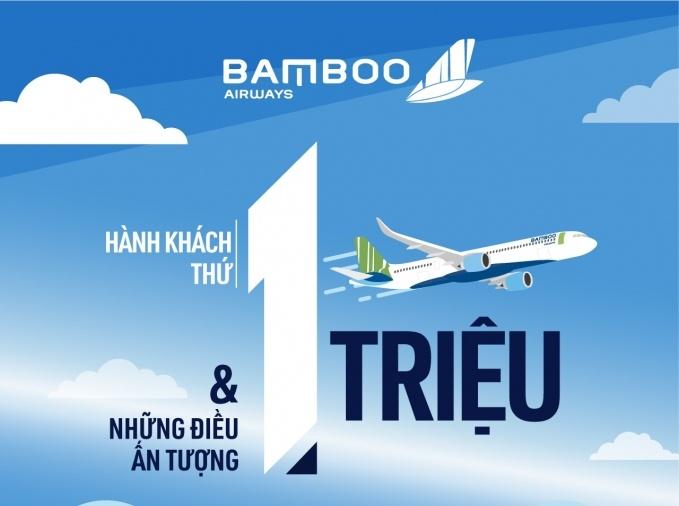 Bamboo Airways: Hành khách thứ 1 triệu và những con số ấn tượng