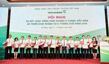 vietcombank hoan thanh cac muc tieu co ban 6 thang dau nam 2019
