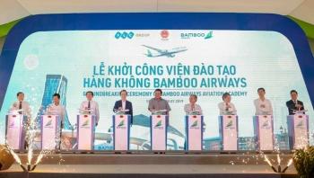chinh thuc khoi cong xay dung vien dao tao hang khong bamboo airways