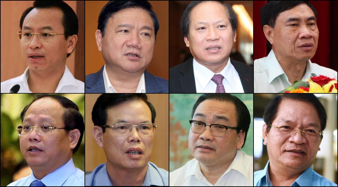 Nhìn lại nhiệm kỳ Đại hội XII: 8 ủy viên T.Ư Đảng đương nhiệm bị kỷ luật
