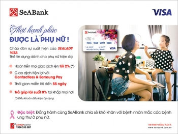 seabank ra mat the sealady cashback visa
