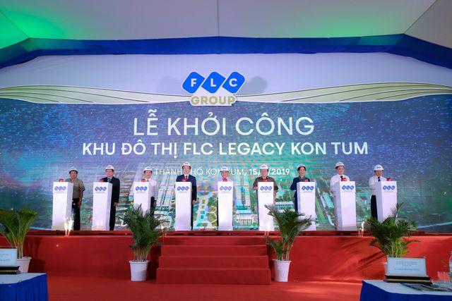 chinh thuc khoi cong flc legacy kon tum du an do thi cao cap dau tien cua tap doan flc tai tay nguyen