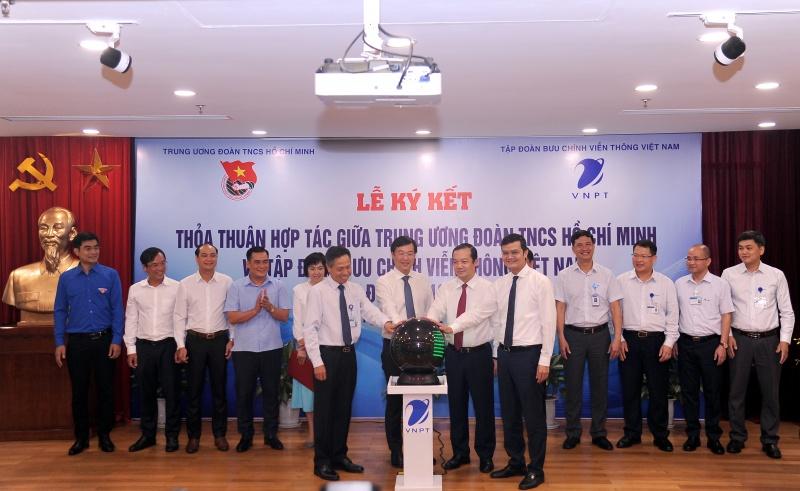 Hợp tác toàn diện với VNPT, TW đoàn TNCS HCM tin tưởng sẽ hoạt động hiệu quả hơn