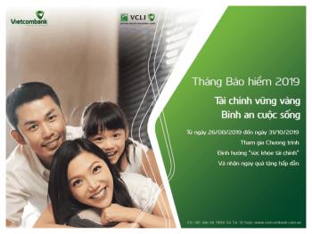 vcli cung vietcombank phat dong thang bao hiem 2019 voi nhieu uu dai hap dan
