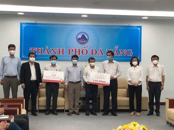 Tập đoàn BRG và SeABank ủng hộ 1 tỷ đồng và 20.000 khẩu trang cho thành phố Đà Nẵng