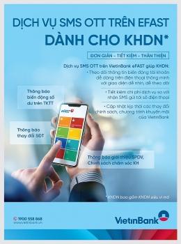 vietinbank trien khai dich vu nhan thong bao qua app vietinbank efast