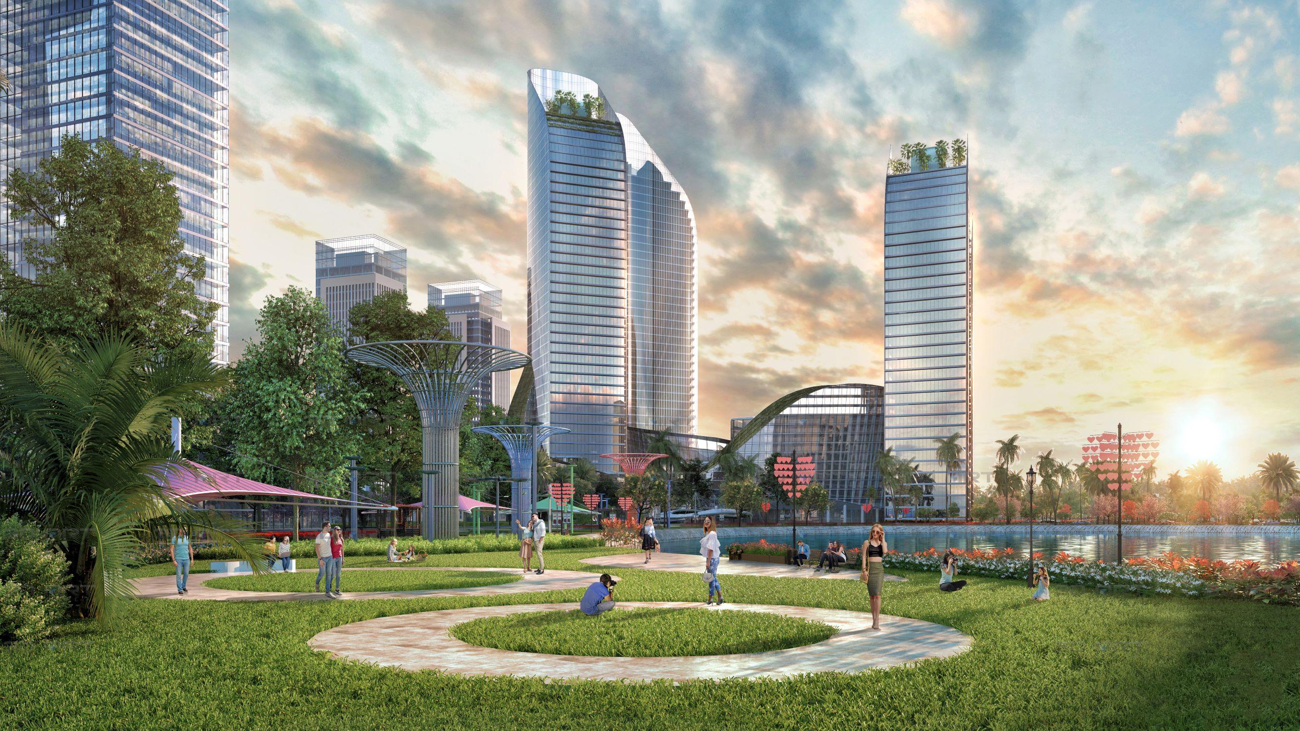 Quá tải ở các thành phố lớn, đô thị sinh thái tỉnh lẻ hút dòng tiền