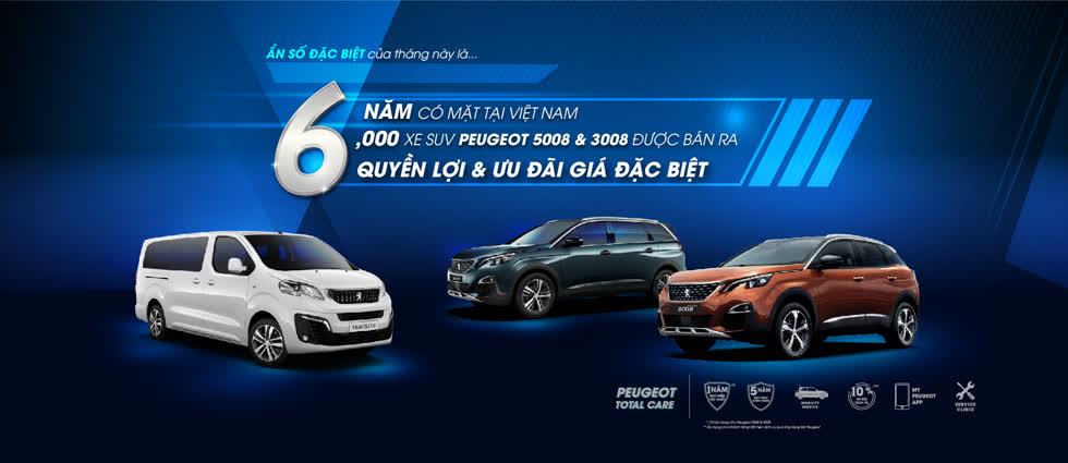 Peugeot Việt Nam ưu đãi giá lên đến 50 triệu và nhiều quyền lợi hấp dẫn khác