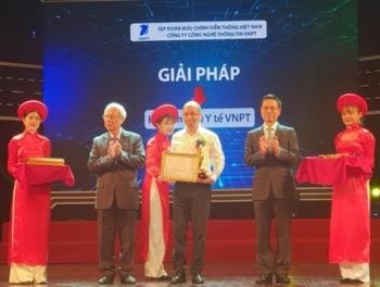 Hệ sinh thái Y tế VNPT nhận Giải thưởng Chuyển đổi số Việt Nam