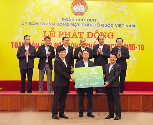 Vietcombank – Ngân hàng luôn Tâm huyết với công tác An sinh xã hội và hỗ trợ cộng đồng