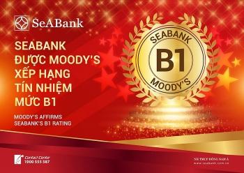 SeABank được  Moody's xếp hạng tín nhiệm B1