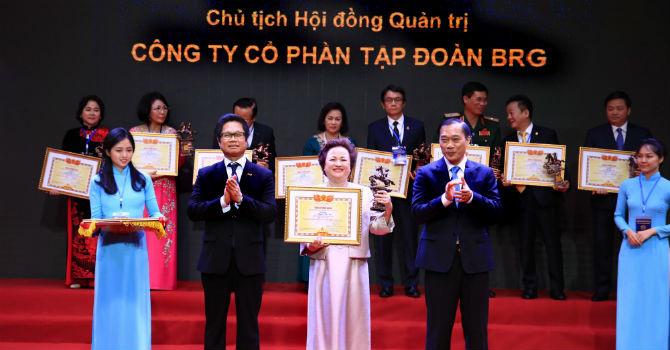 """Chủ tịch Tập đoàn BRG được vinh danh danh hiệu """"Doanh nhân Việt Nam tiêu biểu - Cúp Thánh Gióng 2019"""""""