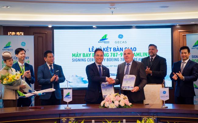 bamboo airways chinh thuc nhan ban giao hai may bay boeing 787 9 dreamliner