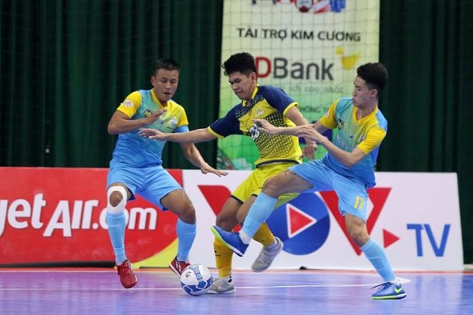 luot 14 giai futsal hdbank vdqg 2020 mai dat dong vai nguoi hung cuoc dua top 3 kho luong