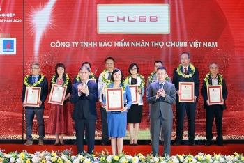 chubb life viet nam duoc vinh danh trong top 500 doanh nghiep loi nhuan tot nhat viet nam