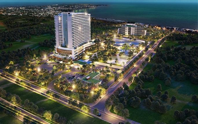 mbbank tai tro von khu nghi duong 5 sao cam ranh riviera beach resort spa mo rong quy mo
