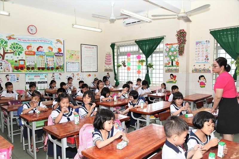 TP. Hồ Chí Minh phối hợp nhịp nhàng trong công tác triển khai sữa học đường