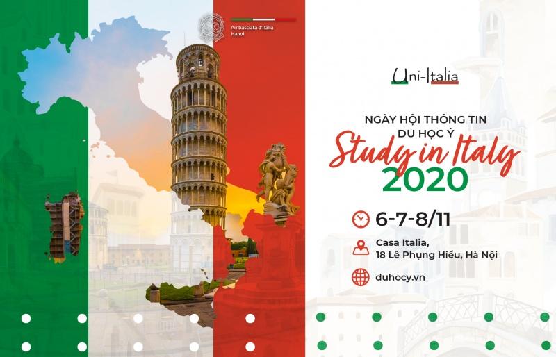 Study in Italy 2020 – Ngày hội thông tin du học Ý