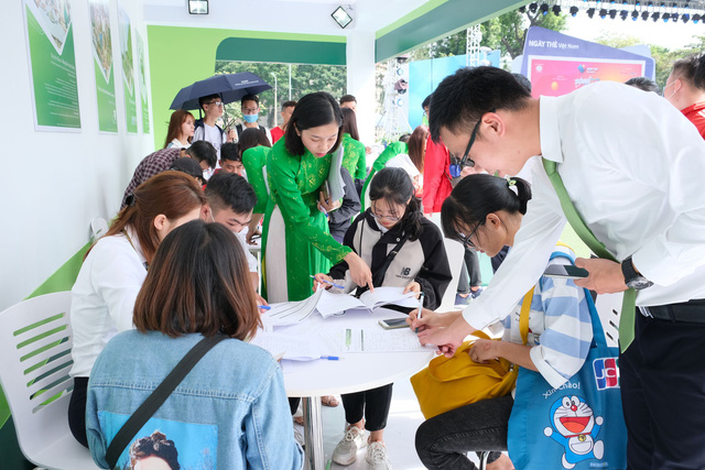vietcombank dong hanh cung song festival chuoi hoat dong nam trong khuon kho ngay the viet nam 2020