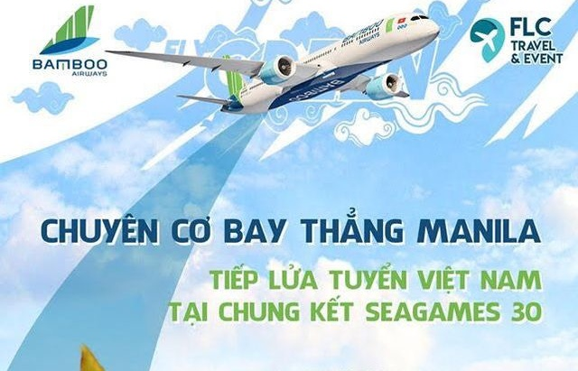 bamboo airways khai thac chuyen bay den philipines phuc vu sea games 30