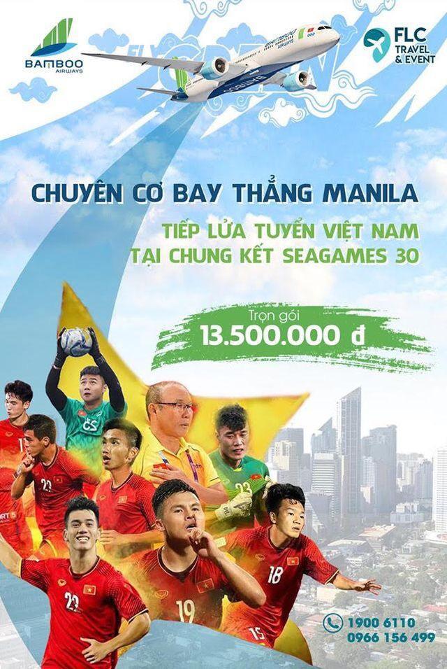 bamboo airways tang 01 nam bay mien phi cho doi tuyen bong da nam bong da nu viet nam va ban huan luyen tham du sea games 30