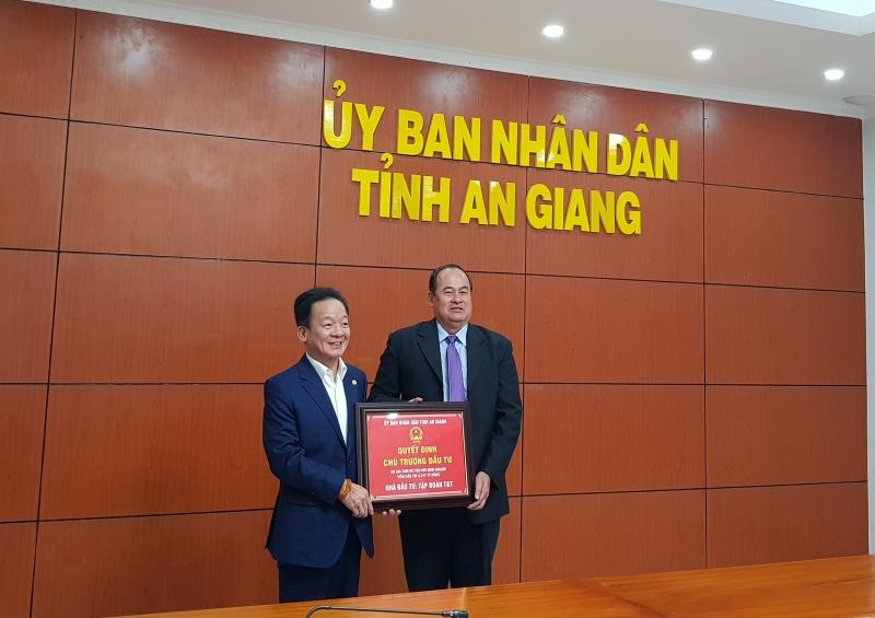 Tập đoàn T&T Group đầu tư 8.656 tỷ đồng phát triển 2 dự án đô thị mới tại An Giang