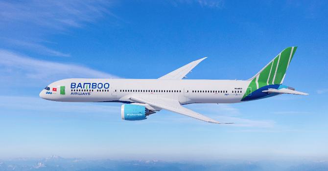 bamboo airways bat ngo he lo ten rieng dat cho may bay boeing 787 9 dreamliner dau tien cua hang