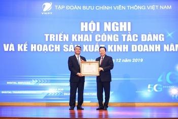 Tập đoàn VNPT đạt nhiều kết nổi bật trong năm 2019