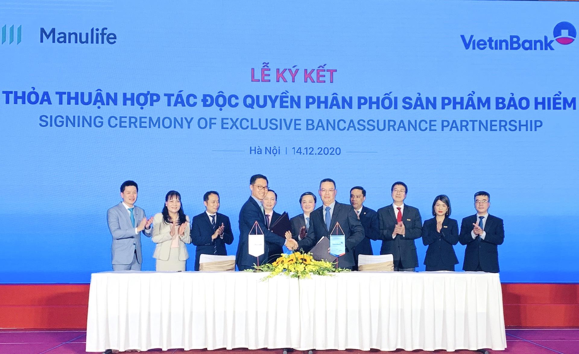VietinBank và Manulife góp phần bảo vệ sức khỏe, ổn định tài chính bền vững cá nhân, gia đình và doanh nghiệp Việt Nam