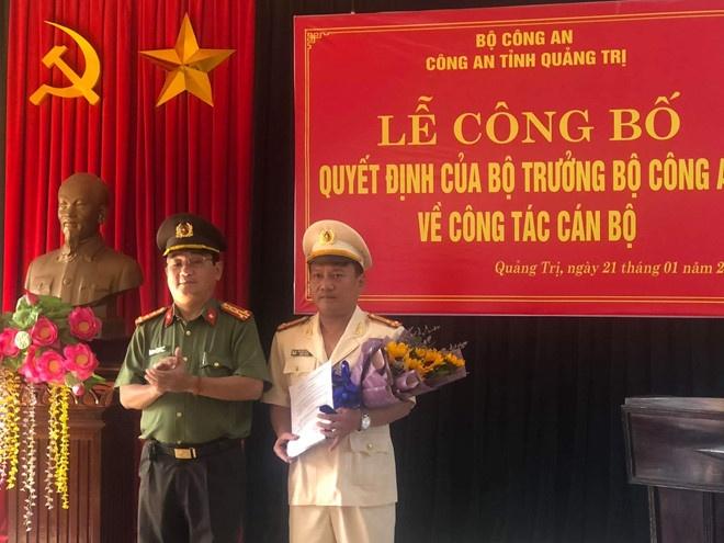 Đồng chí Nguyễn Viết Ánh được điều động làm Trưởng công an TP.Đông Hà