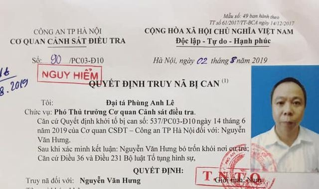 truy na pho tgd cty tap doan htv vn lua dao chiem doat hon ca ty dong