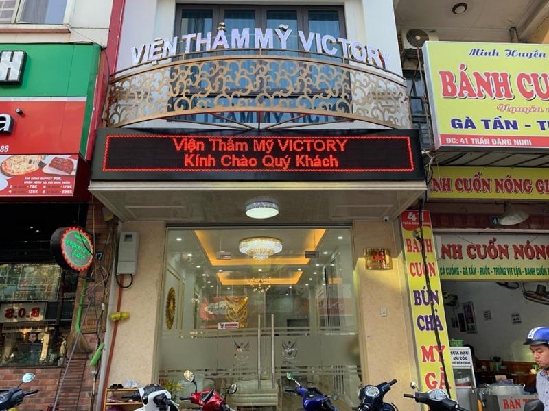 tham my vien victory co dau hieu lua dao khach hang danh trao chat lieu