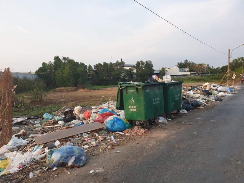Cần Giuộc, Long An: Những bãi rác ngập ngụa, nạn chích hút vẫn đang hoành hành?