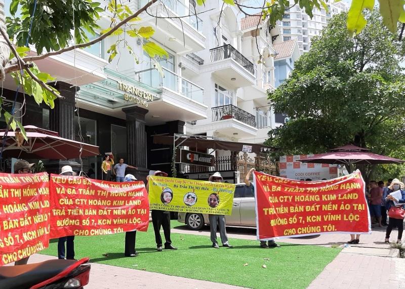 """Công ty Hoàng Kim Land tiếp tục """"hứa lèo"""" với khách hàng"""