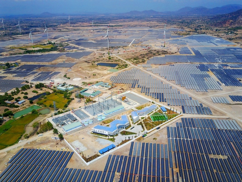 Thêm một dự án nhà máy điện mặt trời với công suất 450MW tại Ninh Thuận