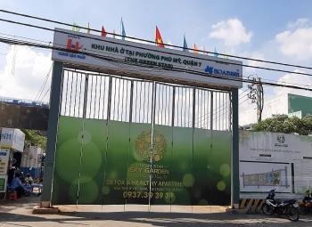 Dự án Green Star Sky Garden do Công ty Hưng Lộc Phát làm chủ đầu tư bị đình chỉ thi công