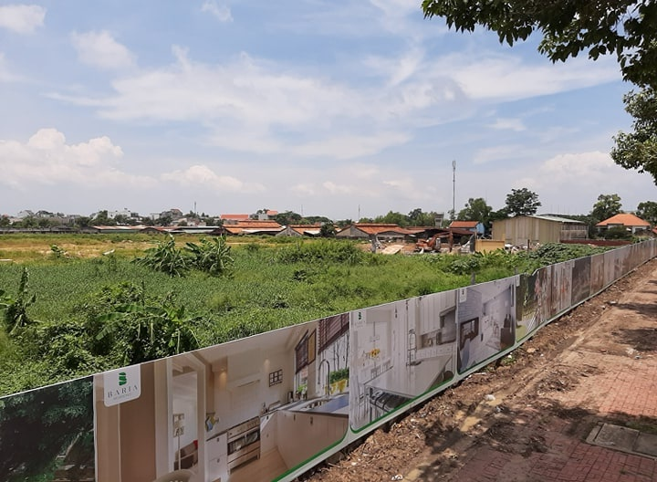 """Công ty Việt Holdings có vẽ dự án """"ma"""" khu dân cư Baria Residence để bán cho khách hàng?"""