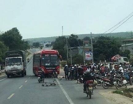 Kon Tum: Tai nạn thương tâm trên QL14, một người tử vong