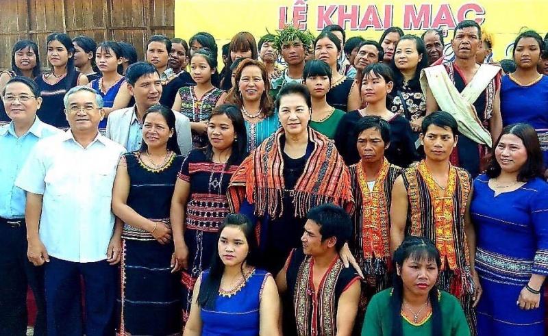 Kon Tum: Tuần Văn Hóa - Du Lịch huyện Kon Plông vinh dự đón Chủ tịch Quốc hội về thăm