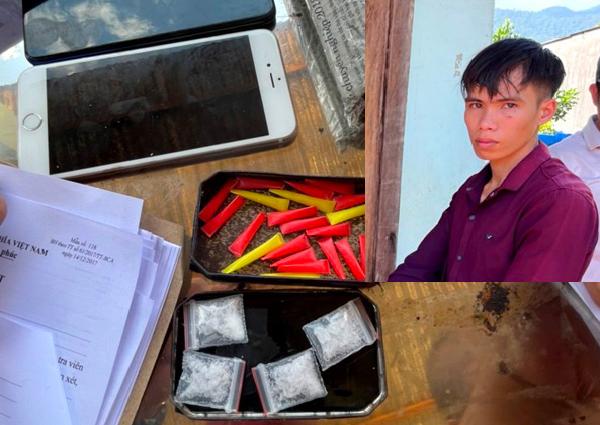 Lâm Đồng: Bắt quả tang đối tượng tàng trữ trái phép chất ma túy