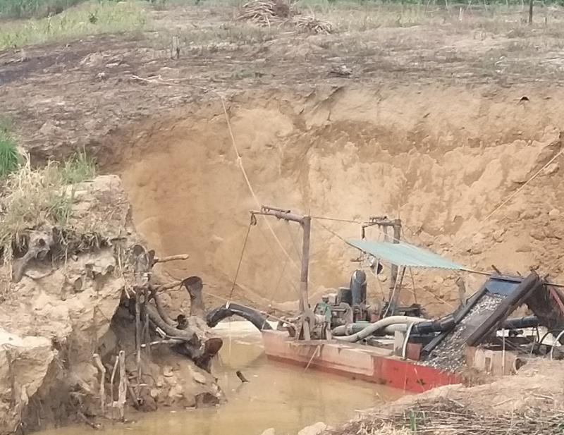 Đắk Lắk: Nhiều 'cát tặc' ngang nhiên hoành hành tại huyện Ea Kar
