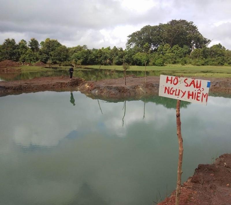 Đắk Nông: Đuối nước thương tâm, thai phụ và người con 4 tuổi tử vong