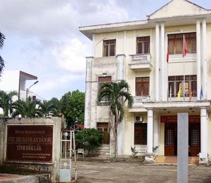 Đắk Lắk: Cục Thi hành án dân sự tỉnh bị tố cáo chậm khắc phục sai phạm