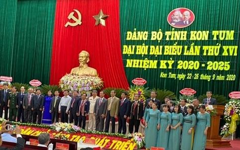 Bế mạc Đại hội đại biểu Đảng bộ tỉnh Kon Tum lần thứ XVI