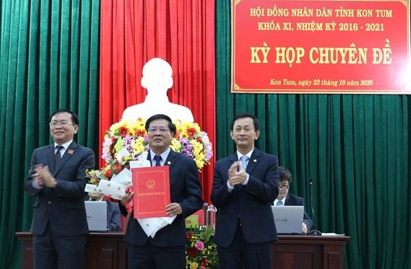 Đồng chí Lê Ngọc Tuấn được bầu giữ chức vụ Chủ tịch UBND tỉnh Kon Tum