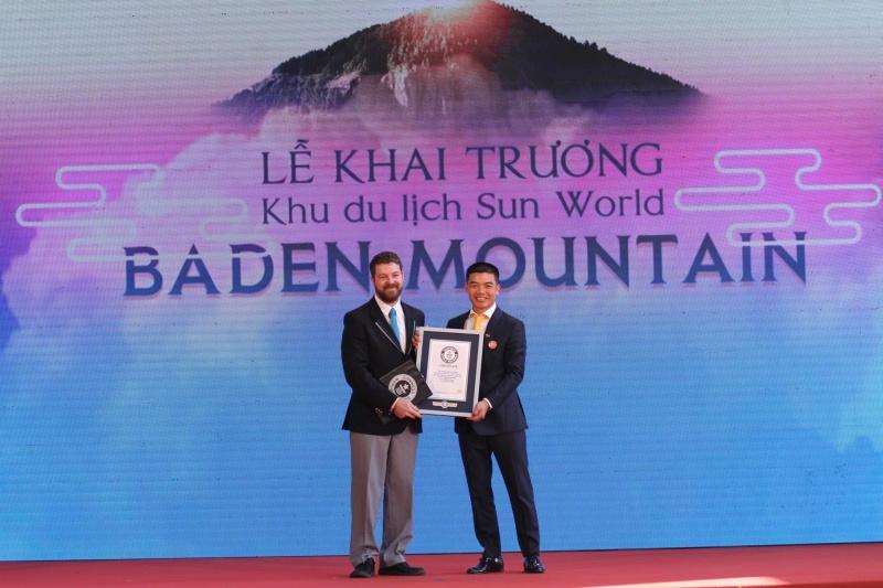 """Chào mừng Lễ khai trương hệ thống cáp treo sở hữu kỷ lục """"Nhà ga cáp treo lớn nhất thế giới"""" tại Tây Ninh"""