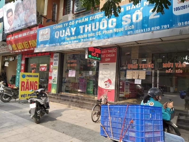 Địa điểm người dân Bắc Ninh có thể mua được khẩu trang y tế bình ổn giá