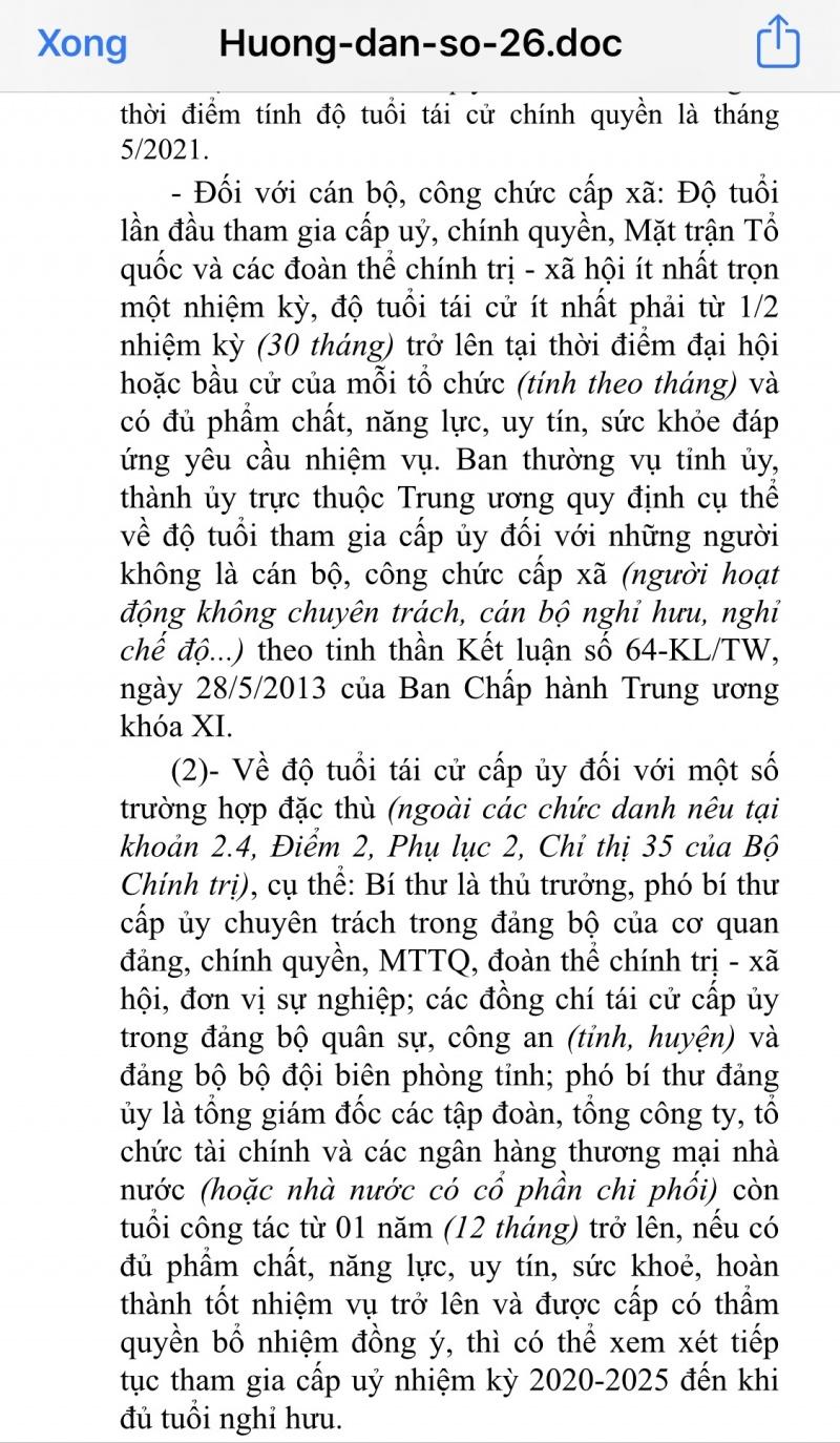 chu tich cong ty thuy loi ha noi co du dieu kien tai cu khi bi to co nhieu sai pham