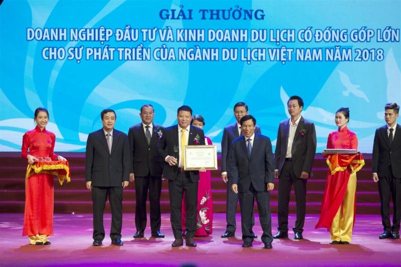 sun group han hoan trong niem vui dai thang tai le trao giai thuong du lich viet nam 2018